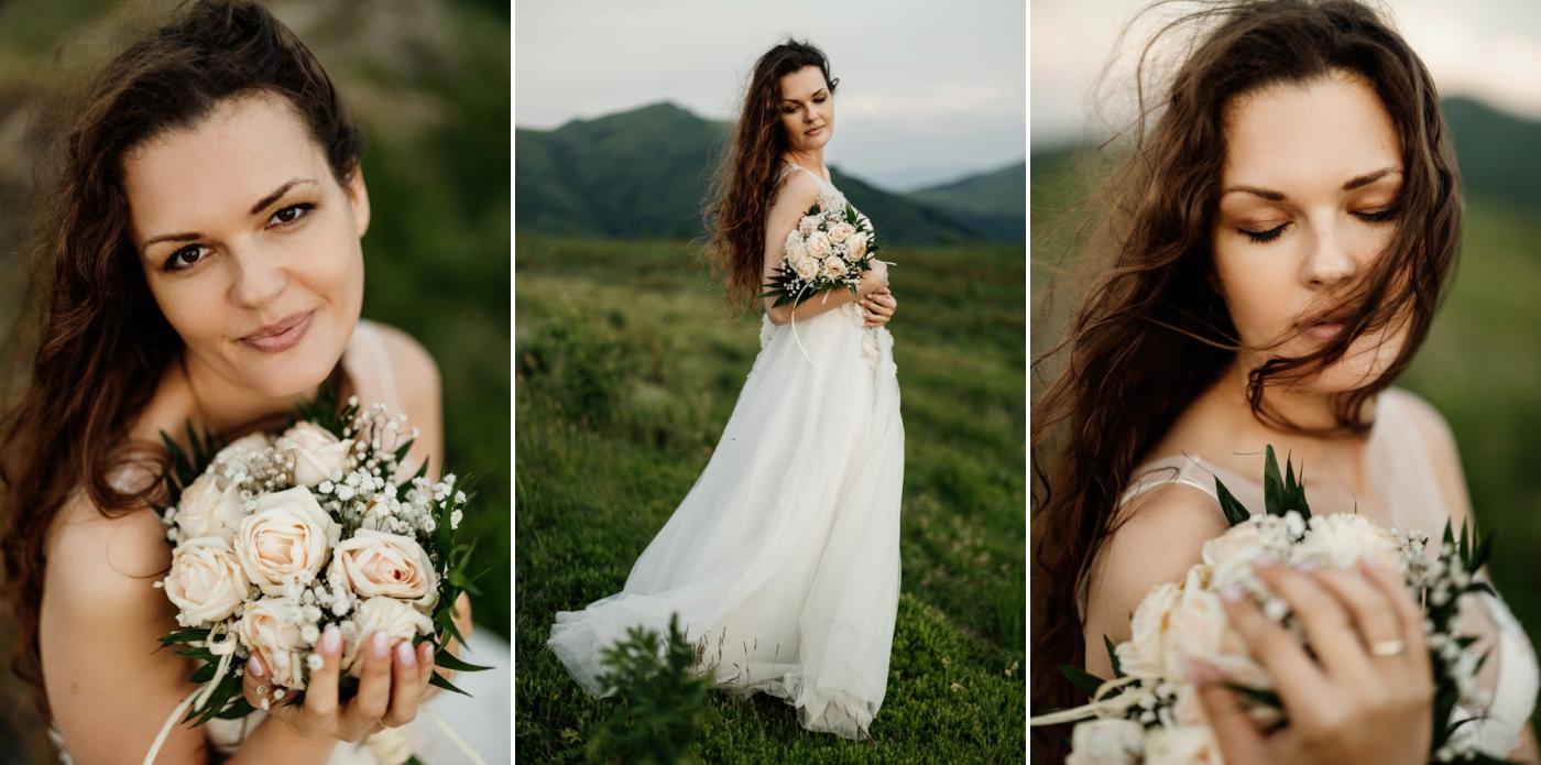 Sesja ślubna w burzowych Bieszczadach 36