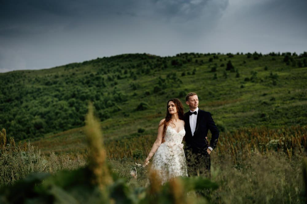 Sesja ślubna w burzowych Bieszczadach 7
