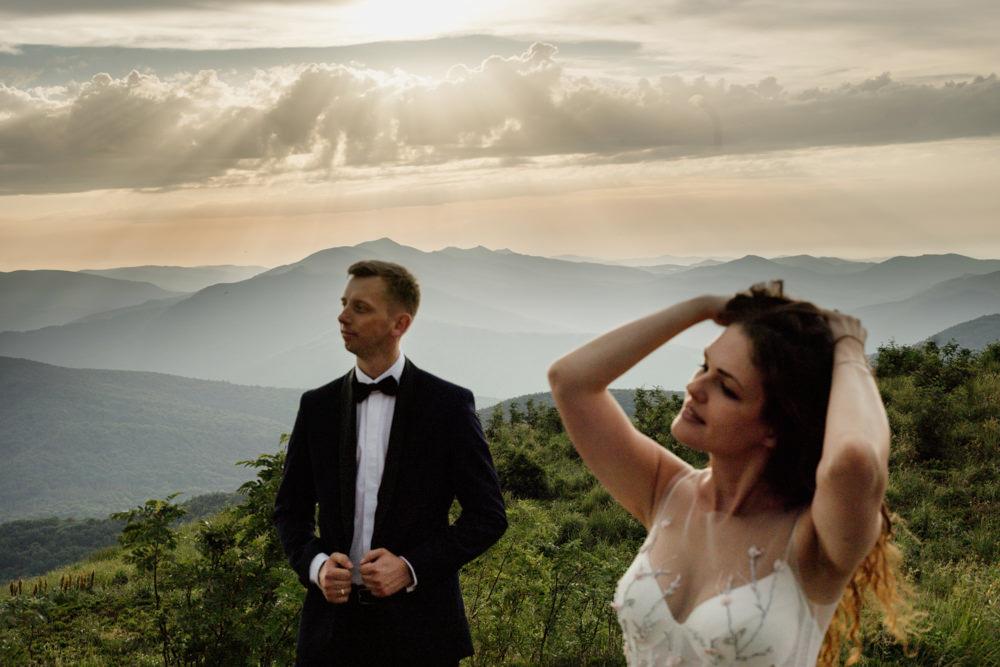 Sesja ślubna w burzowych Bieszczadach 15