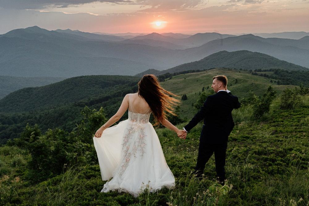 Sesja ślubna w burzowych Bieszczadach 42
